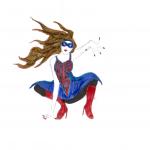 Draw your own female Batman, Flash, or Wolverine