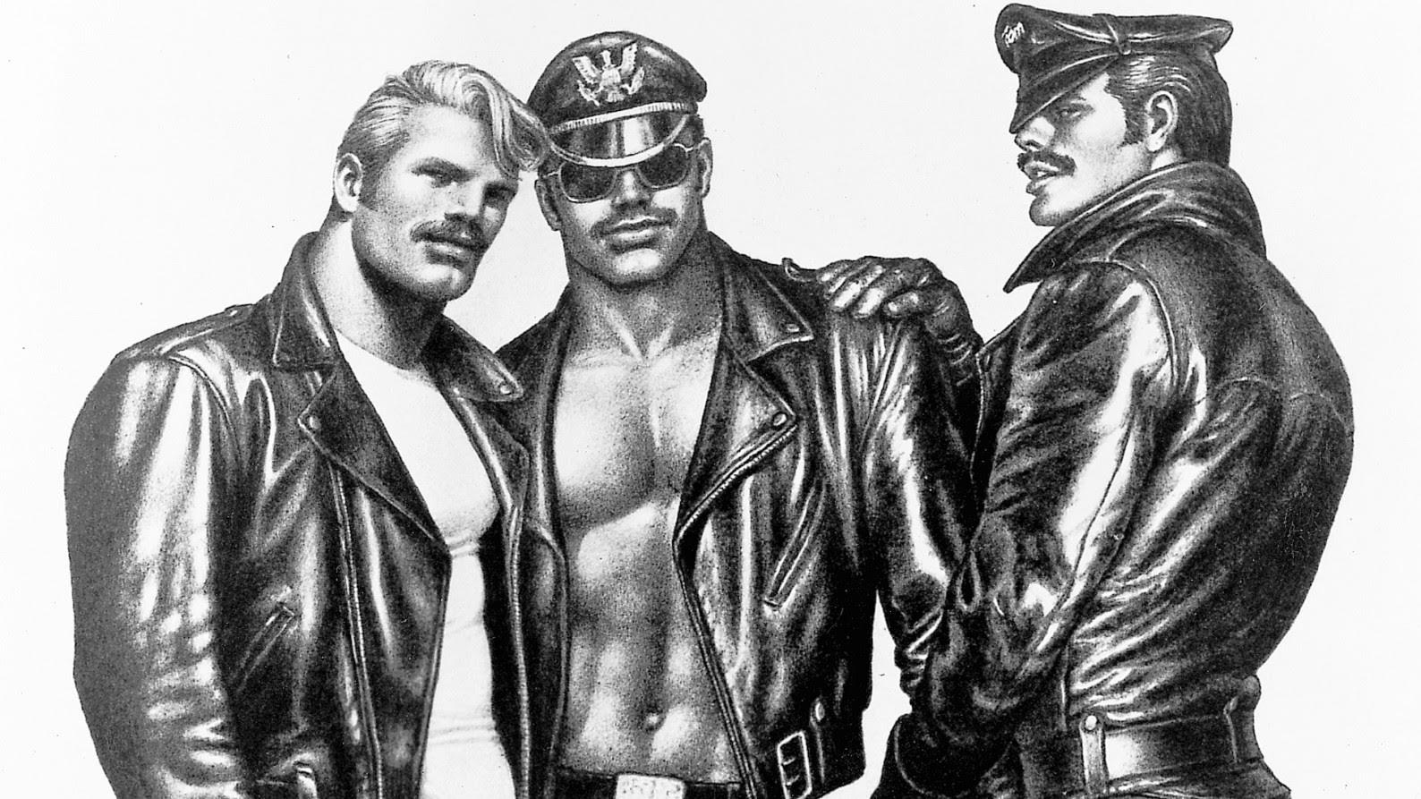 Tom Of Finland  Daddy And The Muscle Academy  The Finnish Institute-8953