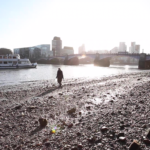 CLOSED 26/2-5/4 Tuula Närhinen's Deep Time Deposits digs down to The Thames' mud