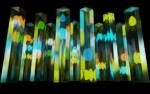 4.12.2020–28.2.2021 Teemu Määttänen's work Noste lights up the Southbank Centre